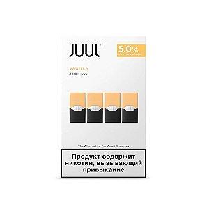 Refil Juul PACK OF 4 - Vanilla 5%