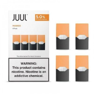Refil Juul - (PACK of 4)  Mango 5%