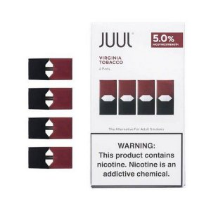 Refil ( pack of 4 ) Juul Virginia Tobacco 5%