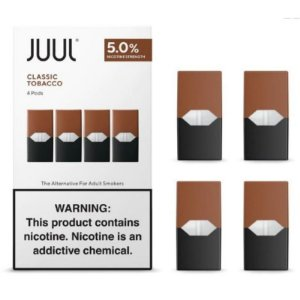 Refil Juul (PACK OF 4)  Classic Tabacco  5%