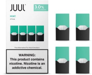 Refil Juul (PACK OF 4) - Mint 3%