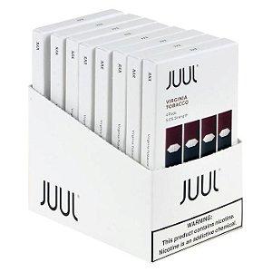 Pacote com 10x Refil Juul (PACK OF 4)  Virginia 5%