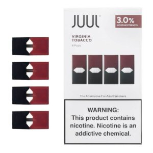 Refil Juul (PACK OF 4) Virginia Tobacco 3%