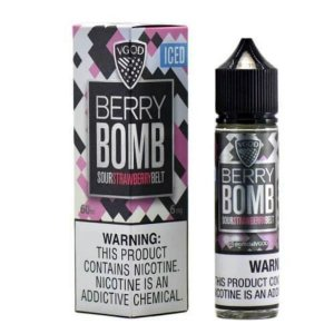 Nic Salt VGOD Berry Bomb Iced 30ml - SaltNic / Salt Nicotine - 25mg e 50mg
