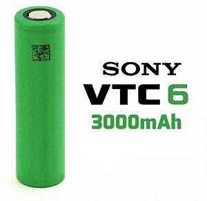 Bateria 18650 SONY VTC6 3000mah (unitário)