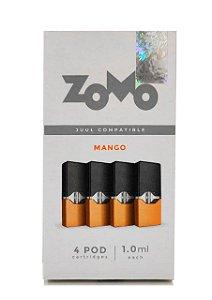 Refil Juul Zomo Mango 1.0ml c/ 4 pods - 3,5% e 5%