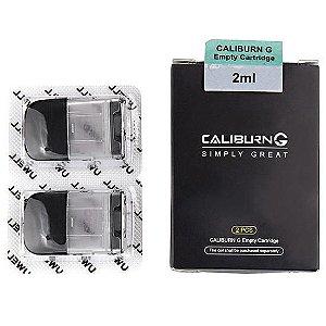 Cartucho de reposição Caliburn G - Pack c/ 2 - sem coil.