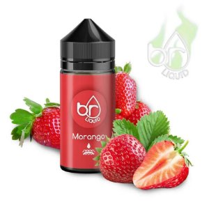 e-Liquid Juice Br Liquid Morango 30ml