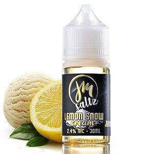 Juice Maniac Nic Salt Lemon Snow 30ml
