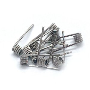 Coil Prebuilt Two-core Fused Clapton 0,45 Ohms (Par)