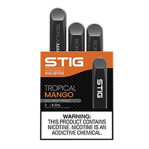 Pod device STIG Tropical Mango - VGOD - Pack c/ 3