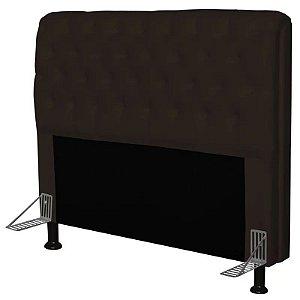 Cabeceira Paris para Cama Queen Box 160 cm Corino