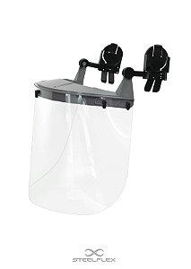 Protetor Facial Policarbonato Acoplável Incolor Steeflex CA 41961