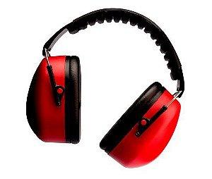 Abafador ruído 21dB Pomp Muffler 3M CA 14235 - Vermelho