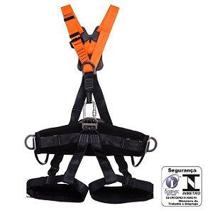 Cinto Paraquedista Poliéster com absorção de energia 5 pontos de ancoragem 2012A Mgcinto CA 35531