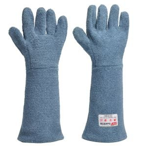 Luva Calor grafatex 5 dedos Kombat Heat Riovalley CA 37965 - Azul