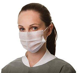 Máscara Dupla TNT Branco com elástico PCT100 Vabene