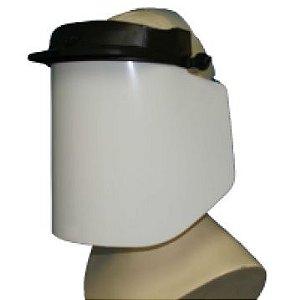 Protetor Facial 10mm com catraca Ampla Visão Plus Dystray CA 36803 - Transparente