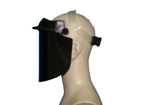 Protetor Facial Articulado 8mm Ampla Visão Dystray CA 36801 - Transparente