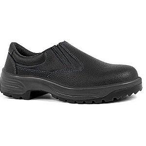 Sapato Couro bico/PVC sola/PU com elástico Usafe CA 28513