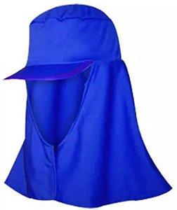 Touca reuso Azul com aba Árabe Dystray