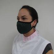 Máscara reuso TNT camada dupla com elástico Prevemax - Verde Musgo