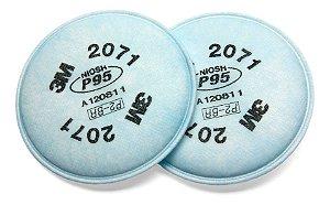 Filtro para Particulados P2 (PFF2) 2071 3M - Branco