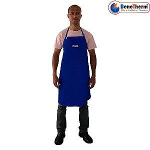 Avental Calor Algodão 120x70cm Therm-K Benetherm CA 37911 - Azul