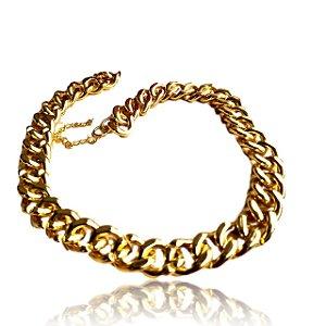 Colar elos dourados grandes
