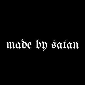 CAMISETA MADE BY SATAN