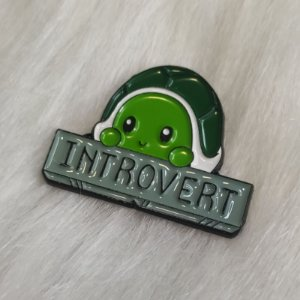 Pin Introvert 🐢