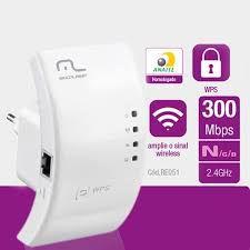 Roteador Repetidor Multilaser 300mpbs Wps - Re051