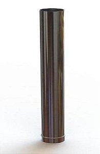 Cano aço inox 200mm para Calefator