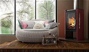 Calefator de Dupla Combustão Elegance LIV 412/413