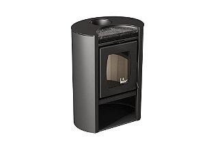 Calefator de Dupla Combustão Elíptico LIV450 + kit de instalação