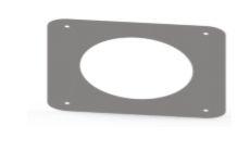 Arremate de Forro em Aço Inox 110mm