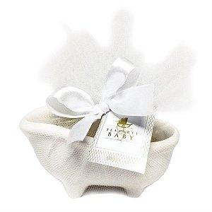 Banheirinha com sabonete de presente para bebês - Fragrância Baby - Tea Party