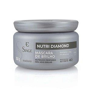 Máscara Capilar Nutritiva Nutri Diamond Eudora 250g
