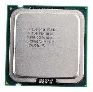 Intel Pentium E5800 2m Cache 3,20ghz 800 Mhz Fsb 775 Oem