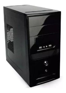 Pc Cpu Nova Intel Core I5 8 Gb Ssd 120 Gb Wifi + Monitor 15