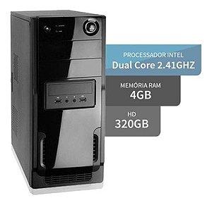 Computador Intel Dual Core 4gb Hd 320gb - Fretegrátis