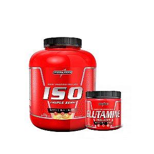 ISO TRIPLE (1,8KG) + GLUTAMINA (150G) - INTEGRALMÉDICA