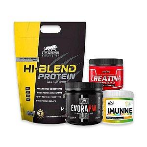 HI - BLEND PROTEIN (1.8kg) + IMUNNE (200g) + ÉVORA PW (300g)  + CREATINA (150g)