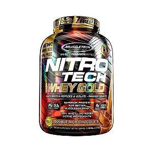 NITRO TECH 100% WHEY GOLD (2.5 kg) MUSCLETECH