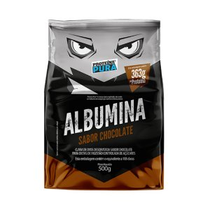 ALBUMINA - PROTEÍNA PURA - 500G