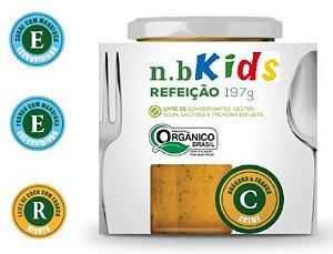 KIDS - Escondidinho de Carne com Mandioca - Papinha Orgânica - 197g