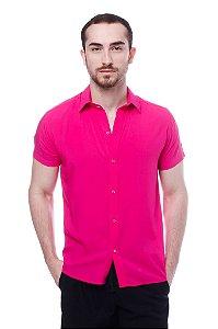 Camisa Viscose Pink
