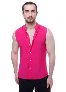 Camisa Viscose Machão Pink