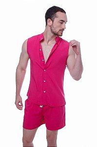 Conjunto Regata Viscose Pink