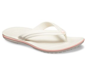 Chinelo Crocs Crocband™ Flip Stucco/melon